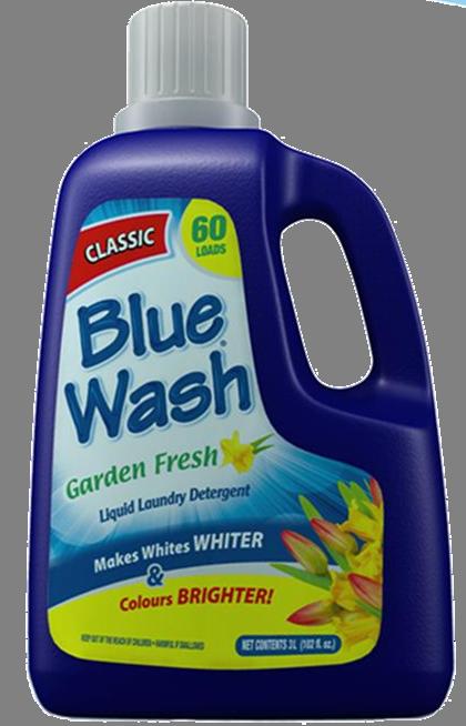 Blue Wash Laundry Detergent Image