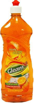 Gleam Antibacterial Orange Image