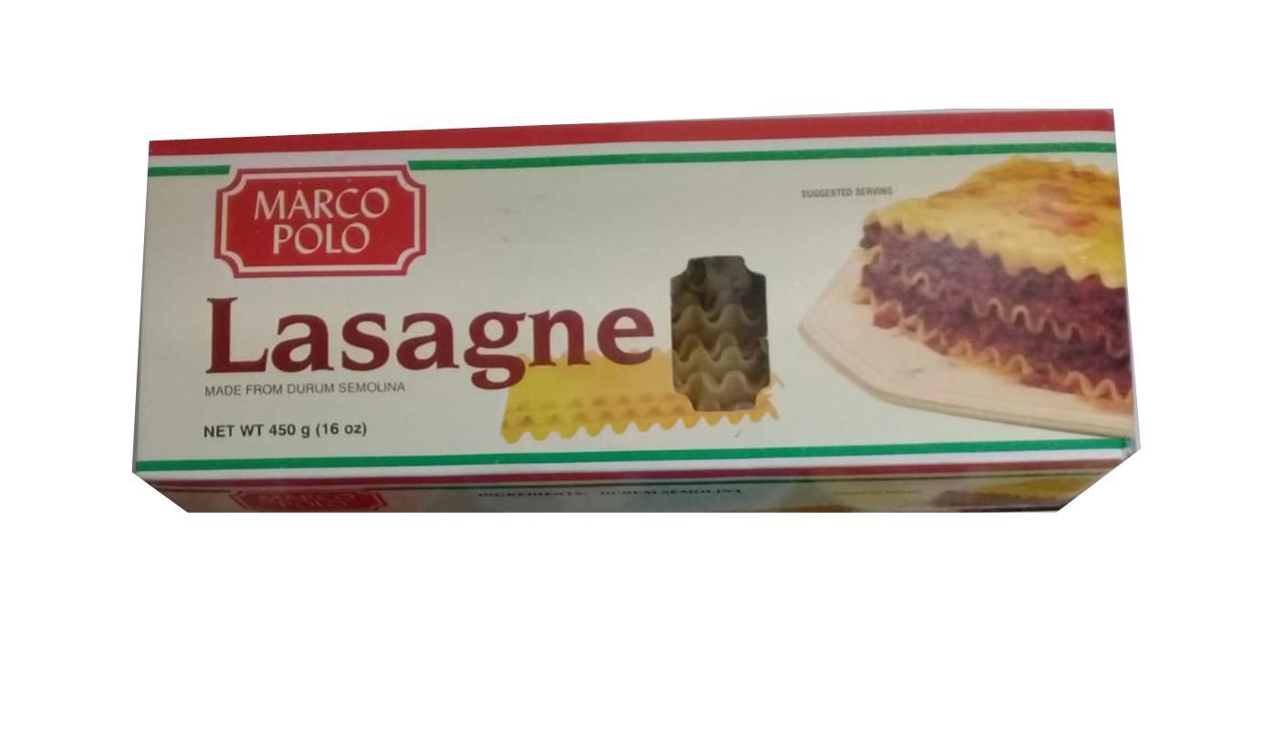 Marco Polo Lasagne Image
